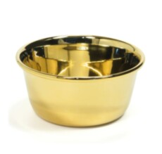 Чаша для бритья Omega Shaving Bowl Gold Plated Stainless Steel