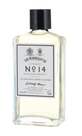 Одеколон No. 14 Vetiver with Lemon Cologne D R Harris купить в интернет-магазине Mr. Greys