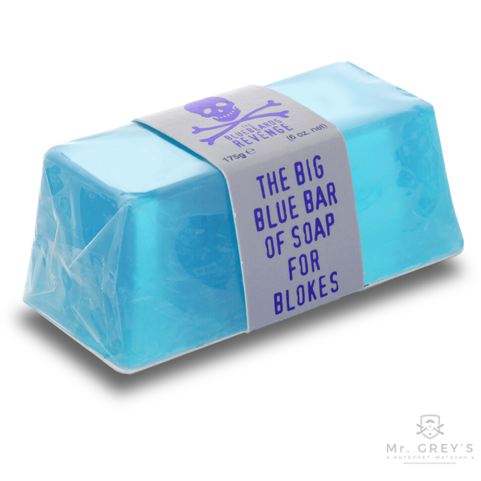 Мыло The Bluebeards Revenge Big Blue Bar Of Soap For Blokes