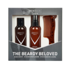 Набор по уходу за бородой Men Rock Soothy Beardy Beloved Oak Moss Starter Kit