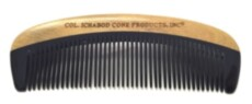 Гребень для бороды Col Conk handcrafted Green Sandalwood Beard Comb