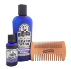 Набор по уходу за бородой Col Conk  Rio Grande Lavender Beard Kit with 2 sided comb