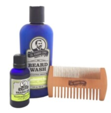 Набор по уходу за бородой Col Conk  Southwestern Sun Beard Kit with 2 sided comb