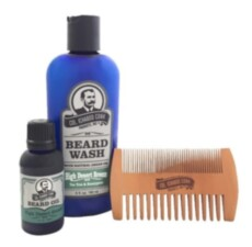 Набор по уходу за бородой Col Conk  High Desert Breeze Beard Kit with 2 sided comb