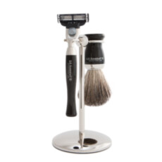 Бритвенный набор D R Harris Starter Shaving Set  Ebony