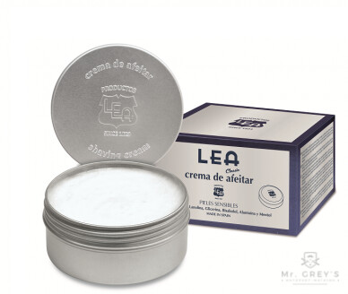 Крем для бритья LEA Classic Shaving Cream in Jar 150gr купить в интернет-магазине Mr. Greys