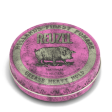 Помада для укладки волос REUZEL Pink Pomade Heavy Hold Medium Shine Grease