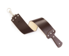 Ремень для правки Ezra Arthur 3 Inch English Bridle Razor Strop in Brown