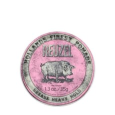 Помада для укладки волос REUZEL Pink Pomade Heavy Hold Medium Shine Grease 35gr