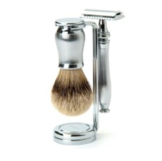 Набор бритвенный Edwin Jagger Chatsworth Barley Silver Tip Set