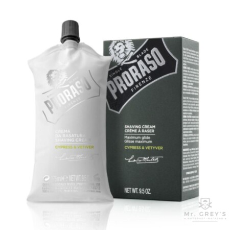 Крем для бритья Proraso Shaving Cream Cypress & Vetyver 275 ml купить в интернет-магазине Mr. Greys