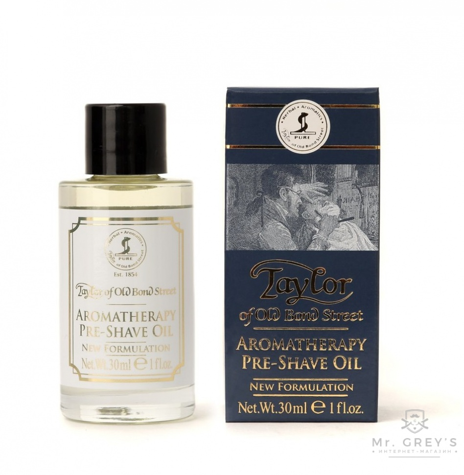 Масло до бритья Taylor of Old Bond Street Aromatherapy Pre-Shave Oil 30ml
