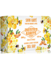 Мыло Institut Karite Shea Soap Almond and Honey 200g