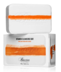 Мыло Baxter of California Vitamin Cleansing Bar Citrus & Herbal Musk
