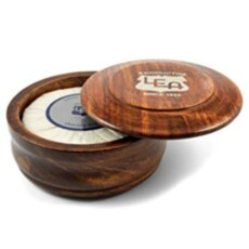 Мыло для бритья в чаше из дерева LEA Classic Shaving Soap in Wooden Bowl