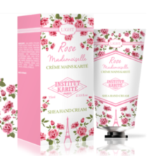 Крем для рук Institut Karite Rose Mademoiselle Light Shea Hand Cream 75 ml